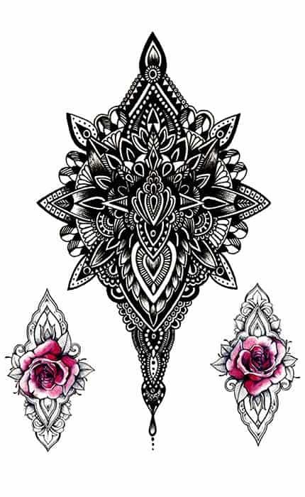 Dočasné tetování AT-8058