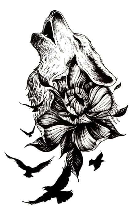 Dočasné tetování AT-8222