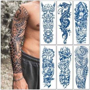 Semi-permanentní dočasné tetování